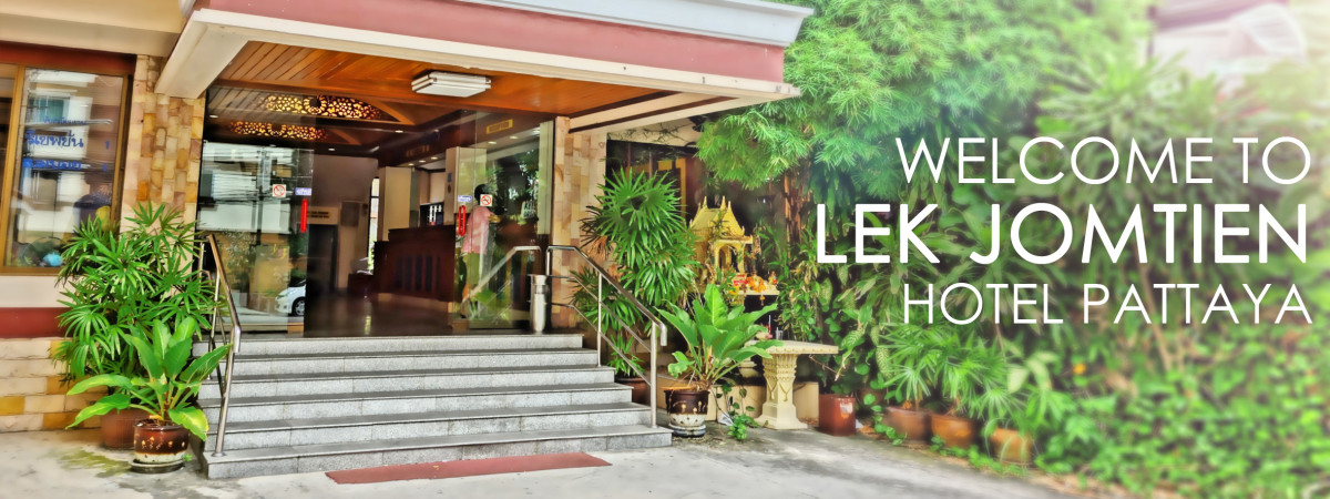 Lek jomtien hotel welcome for Lek hotel pattaya